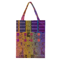 Circuit Board Pattern Lynnfield Die Classic Tote Bag