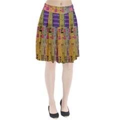 Circuit Board Pattern Lynnfield Die Pleated Skirt