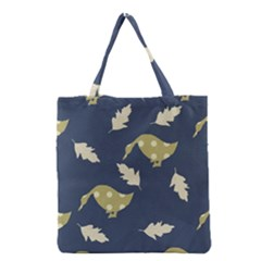 Duck Tech Repeat Grocery Tote Bag