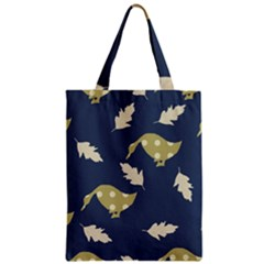 Duck Tech Repeat Zipper Classic Tote Bag