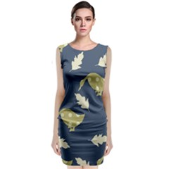 Duck Tech Repeat Classic Sleeveless Midi Dress