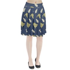 Duck Tech Repeat Pleated Skirt