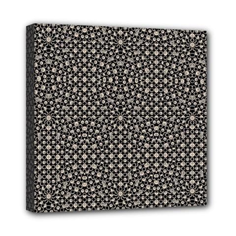 Modern Oriental Pattern Mini Canvas 8  x 8