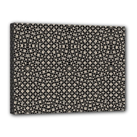 Modern Oriental Pattern Canvas 16  x 12