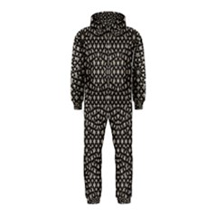 Modern Oriental Pattern Hooded Jumpsuit (Kids)