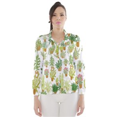 Flowers Pattern Wind Breaker (women)