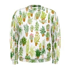 Flowers Pattern Men s Sweatshirt