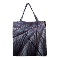 Fractal Art Picture Definition  Fractured Fractal Texture Grocery Tote Bag