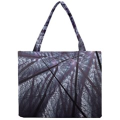 Fractal Art Picture Definition  Fractured Fractal Texture Mini Tote Bag