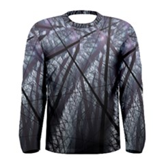 Fractal Art Picture Definition  Fractured Fractal Texture Men s Long Sleeve Tee