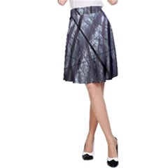 Fractal Art Picture Definition  Fractured Fractal Texture A-Line Skirt