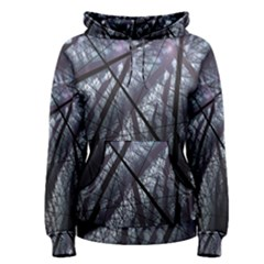 Fractal Art Picture Definition  Fractured Fractal Texture Women s Pullover Hoodie