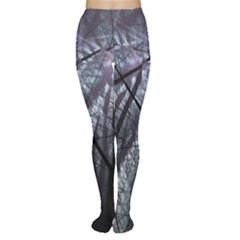 Fractal Art Picture Definition  Fractured Fractal Texture Women s Tights