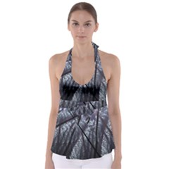 Fractal Art Picture Definition  Fractured Fractal Texture Babydoll Tankini Top