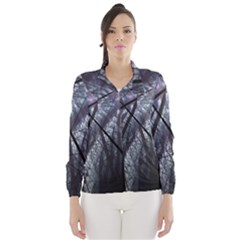 Fractal Art Picture Definition  Fractured Fractal Texture Wind Breaker (women)