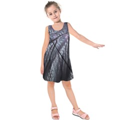 Fractal Art Picture Definition  Fractured Fractal Texture Kids  Sleeveless Dress
