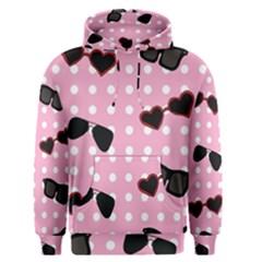 Pisunglass Tech Pink Pattern Men s Pullover Hoodie