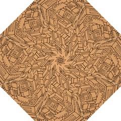 Mechanical Tech Pattern Folding Umbrellas