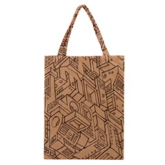 Mechanical Tech Pattern Classic Tote Bag