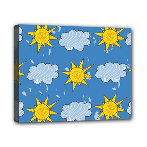 Sunshine Tech Blue Canvas 10  x 8