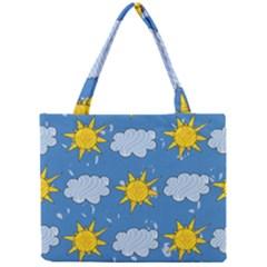 Sunshine Tech Blue Mini Tote Bag