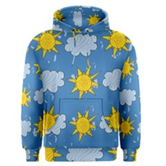 Sunshine Tech Blue Men s Pullover Hoodie