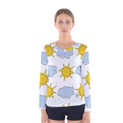 Sunshine Tech White Women s Long Sleeve Tee