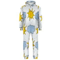 Sunshine Tech White Hooded Jumpsuit (Men)