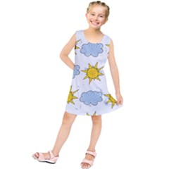 Sunshine Tech White Kids  Tunic Dress