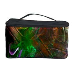 Fractal Texture Abstract Messy Light Color Swirl Bright Cosmetic Storage Case