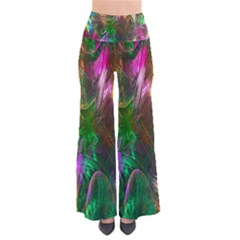 Fractal Texture Abstract Messy Light Color Swirl Bright Pants