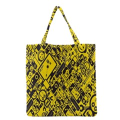Test Steven Levy Grocery Tote Bag