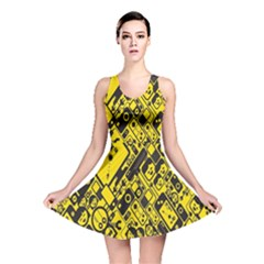 Test Steven Levy Reversible Skater Dress