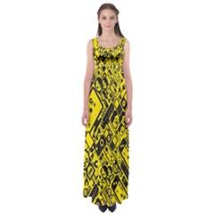 Test Steven Levy Empire Waist Maxi Dress