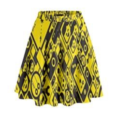 Test Steven Levy High Waist Skirt