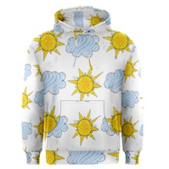 Sunshine Tech White Men s Pullover Hoodie