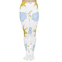 Sunshine Tech White Women s Tights