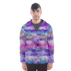 1 111111111artcubes Hooded Wind Breaker (Men)