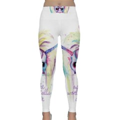 As The World Falls Down Classic Yoga Leggings