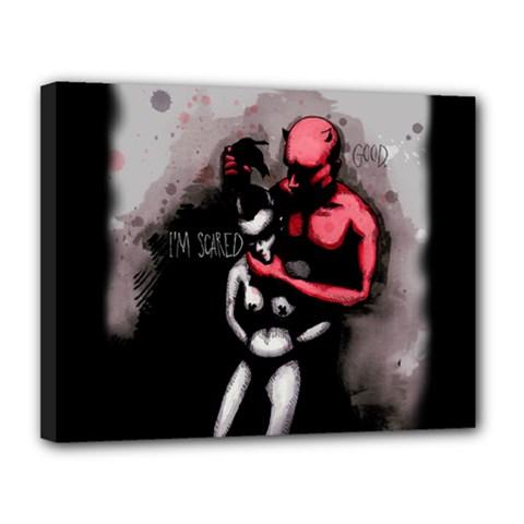 Bescaredduv Canvas 14  x 11