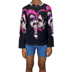 I Know What You Want Kids  Long Sleeve Swimwear