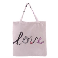 Toy Love Grocery Tote Bag