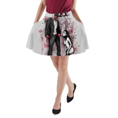 Say Please A-Line Pocket Skirt