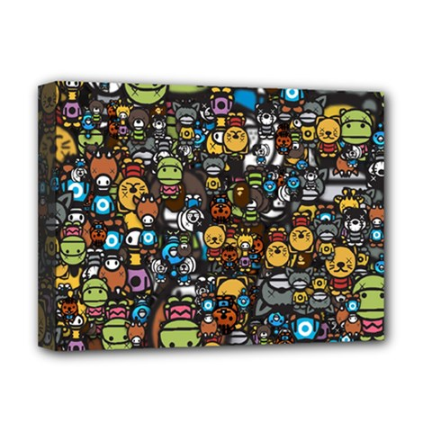 Many Funny Animals Deluxe Canvas 16  x 12