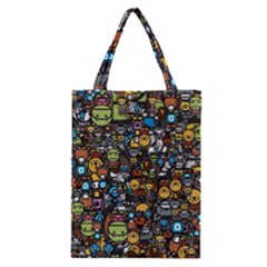 Many Funny Animals Classic Tote Bag