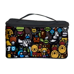Many Funny Animals Cosmetic Storage Case