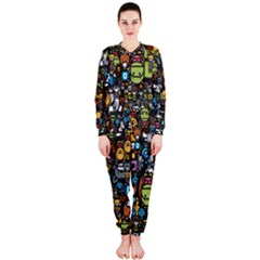 Many Funny Animals OnePiece Jumpsuit (Ladies)