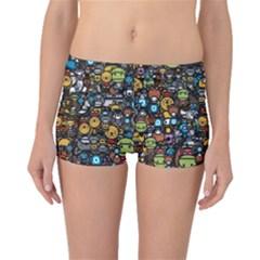 Many Funny Animals Boyleg Bikini Bottoms
