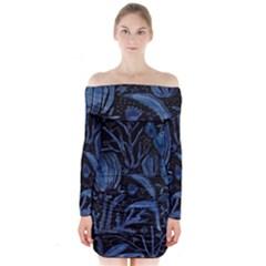 Art And Light Dorothy Long Sleeve Off Shoulder Dress