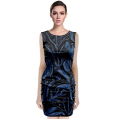 Art And Light Dorothy Sleeveless Velvet Midi Dress